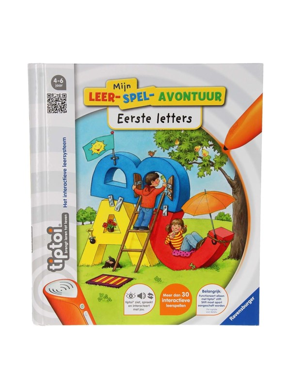 Ravensburger Tiptoi Book My Learning Game Adventure-First Lette
