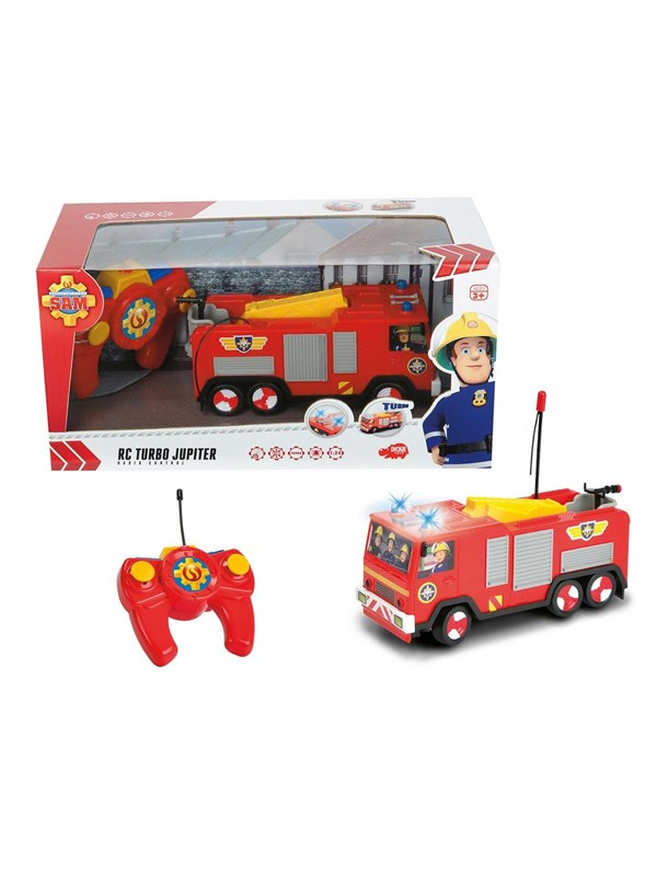 Dickie Fireman Sam Jupiter RC Turbo