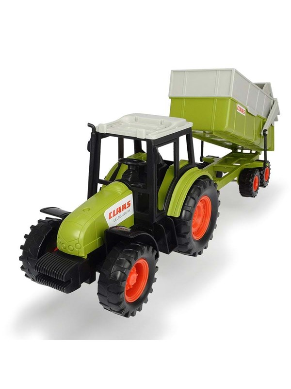 Dickie Claas Tractor with Trailer