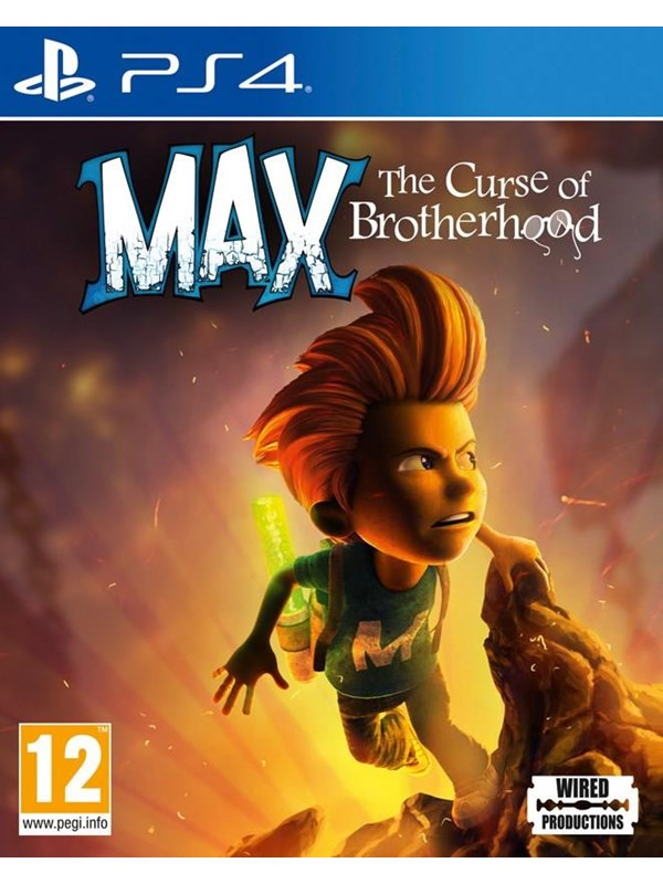 Max: The Curse of Brotherhood - Sony PlayStation 4 - Action/Adventure