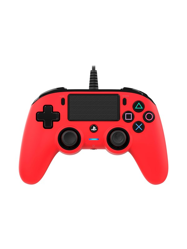 BigBen Interactive Nacon Compact Controller Red - Gamepad - Sony Playstation 4
