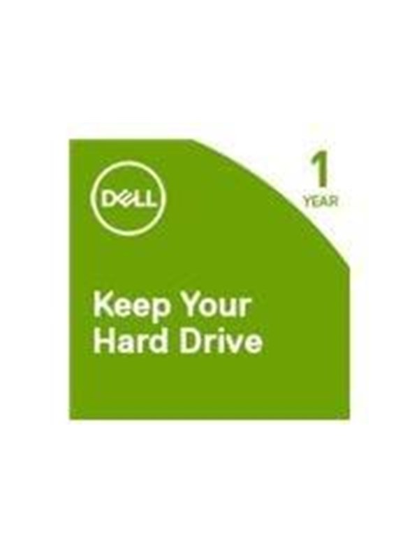 Dell Keep Your Hard Drive - extended service agreement - 1 year