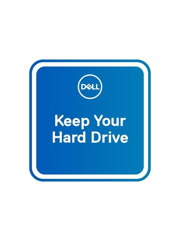 Dell 2Y KYHD [2Y Keep Your Hard Drive] - extended service agreement - 2 years