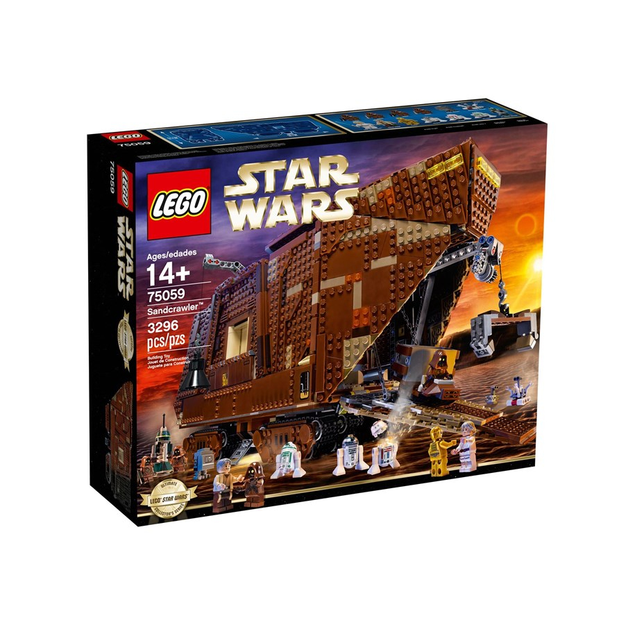 Lego Star Wars Jawa 75059 Mini Figure